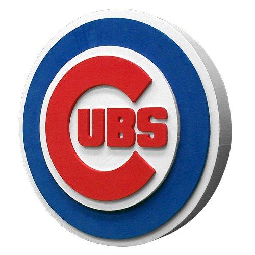 MLB Chicago Cubs Fan Foam Logo (1 Fan Sign)