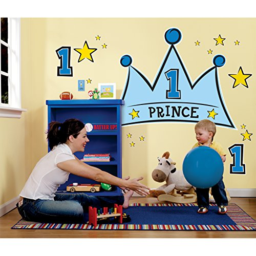 Lil' Prince 1st Birthday Giant Wall (Lil Prince 1st Birthday)