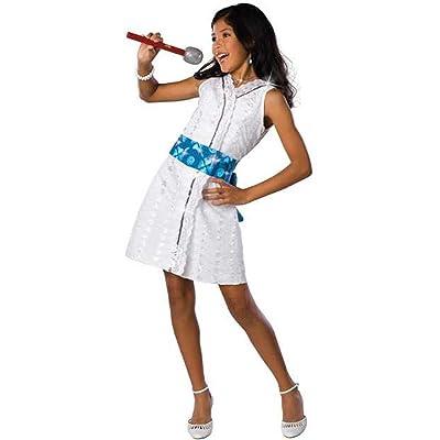 High School Musical 2 Gabriella Star Dazzle Performance Costume: Girl\'s Size 8-10: Toys & Games [5Bkhe1404329]