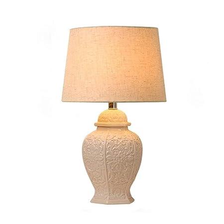 TZZ lámpara de Estilo Victoriano del Escritorio LED Blanca de ...