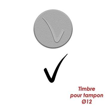 Rubber Stamp Ink Pad 12 Mm In Diameter