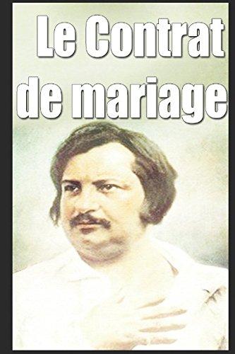 Le Contrat de mariage (French Edition)