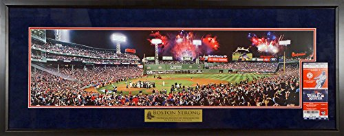 Boston Red Sox Fenway Park 2013 World Series Champs Panoramic Deluxe with