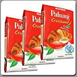 Paluani Croissants Filled with Pastry Cream 6x1.5 Oz Individual Bags (Pack of 3)