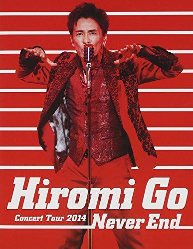 Hiromi Go - Hiromi Go Concert Tour 2014 Never End [Japan BD] SRXL-59