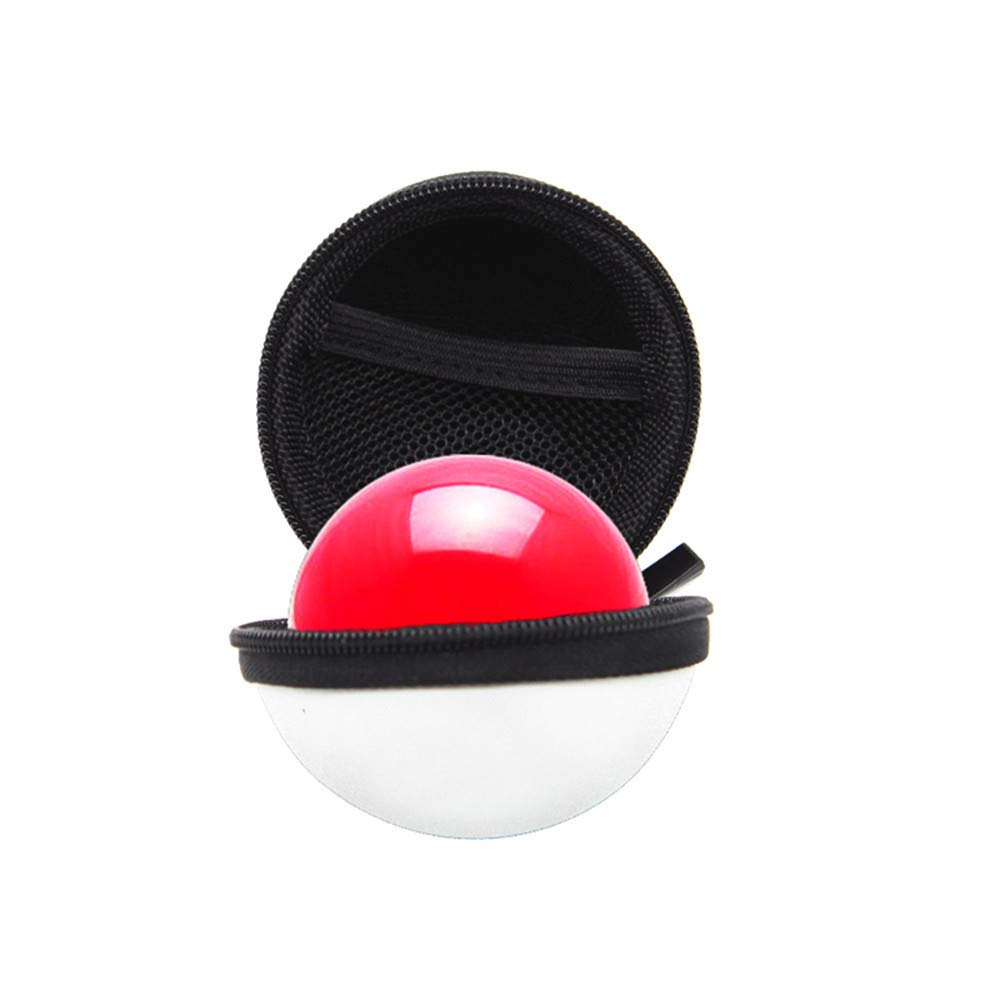 Portable Carrying Carry Case Cover for Nintendo Switch Poke Ball Plus Controller Eevee Game Bag with Keychain by Mayunn (Image #2)