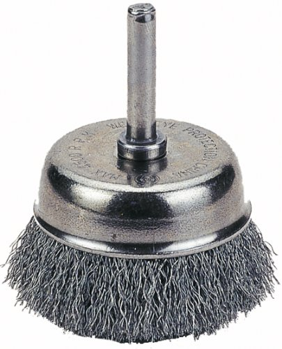 Thermadyne 1423-2107 Firepower 2-1/2-Inch Cup Brush Crimped Wire