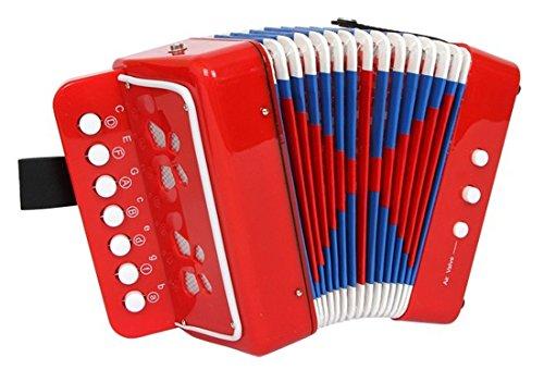 Akkordeon Harmonika für Kinder 10 Tasten guter Klang