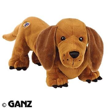 Amazon.es: Webkinz - Canela perro salchicha de peluche con código de adopción: Juguetes y juegos
