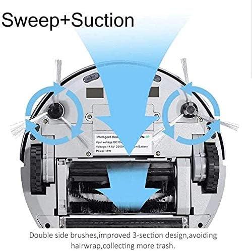 Aspirateur robot BNMMJ, système anti-fermeture, robot aspirateur robot aspirateur intelligent entièrement automatique et faites glisser le tout dans une seule machine