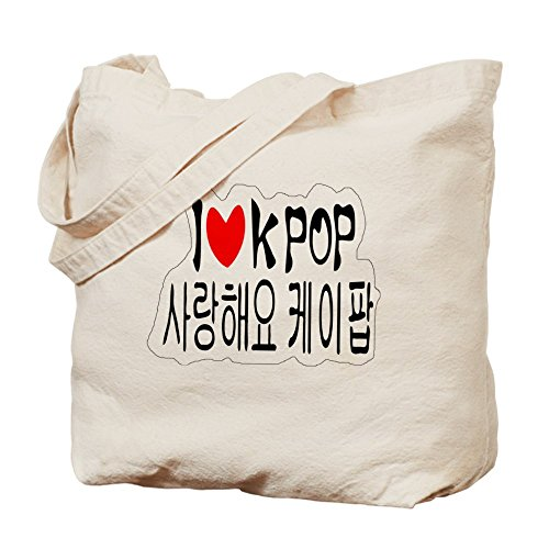I corazón Kpop en coreano TXT Tote Bag bolso por CafePress