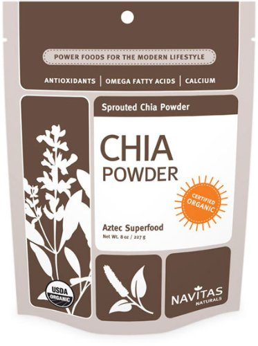 Organic Chia Powder by Navitas Naturals, 8 oz