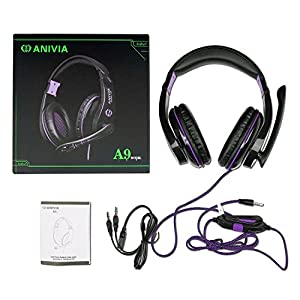 PC IOS MOBILE PHONE PS4 Xbox One PSP Over Ear Games Headphone Headset with Mic