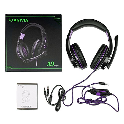 51bnAtXGwxL - PC IOS MOBILE PHONE PS4 Xbox One PSP Over Ear Games Headphone Headset with Mic