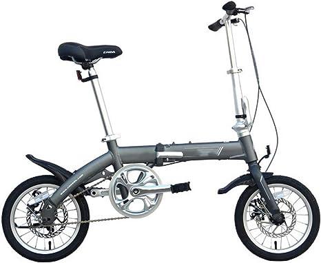 WYFDM Bicicleta, Ultra Ligera Aleación de Aluminio Completa 14 ...