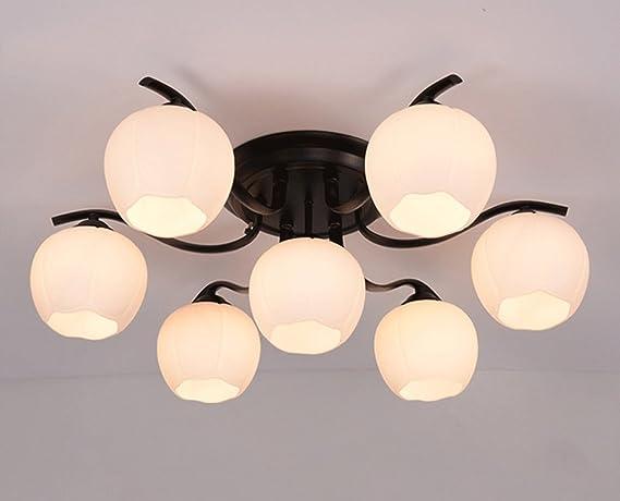 Lampade Da Soffitto Moderne A Led : Dfhhg lampade da soffitto soggiorno arrotondati stile americano