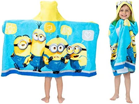 Official Despicable Me Minions Beach Bath Cotton Towel New Gift