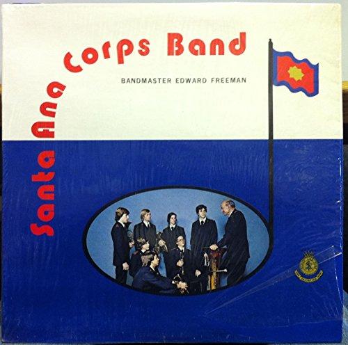 (SALVATION ARMY SANTA ANA CORPS BAND EDWARD FREEMAN vinyl record)