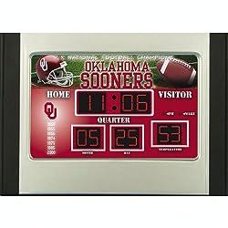 Oklahoma Sooners Scoreboard Desk & Alarm Clock