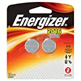 Energizer Lithium Coin Watch/Electronic Battery 2016, 2-Count