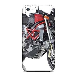 Flexible pc Back Case Cover For Iphone 5c - Bimota Delirio 2006