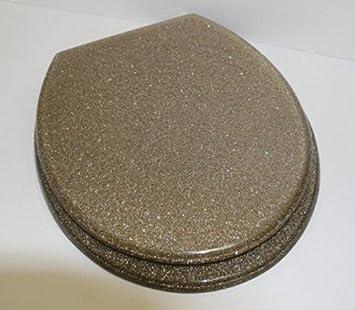 GOLD GLITTER SPARKLE BLING RESIN TOILET SEATGOLD GLITTER SPARKLE BLING  RESIN TOILET SEAT Amazon co ukGrey Resin Toilet Seat  Euroshowers Granite Grey Resin Toilet Seat  . Solid Gold Toilet Seat. Home Design Ideas