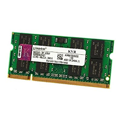 2 GB RAM PC portátil SODIMM Kingston kvr667d2s5 – 2 G DDR2 PC2 – 5300S 667 mhz CL5