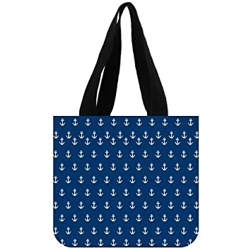 b10ba064b3f0 Amazon.com : Anchor Canvas Everyday Tote Bags, Stylish Anchors ...