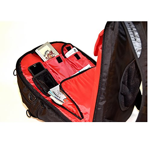 SLAPPA MASK Jedi Checkpoint Friendly 17 inch Gaming and Travel Backpack, tons of storage, Ultimate Protection by Slappa (Image #4)