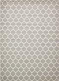 Cheap A2Z Rug Trellis Design Collection – 13′ x 18′-Feet Area Rugs, Light Gray