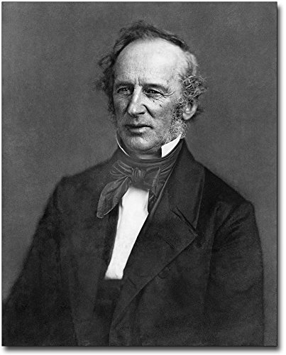 Cornelius Vanderbilt Portrait 8x10 Silver Halide Photo Print by The McMahan Photo Art Gallery & Archive