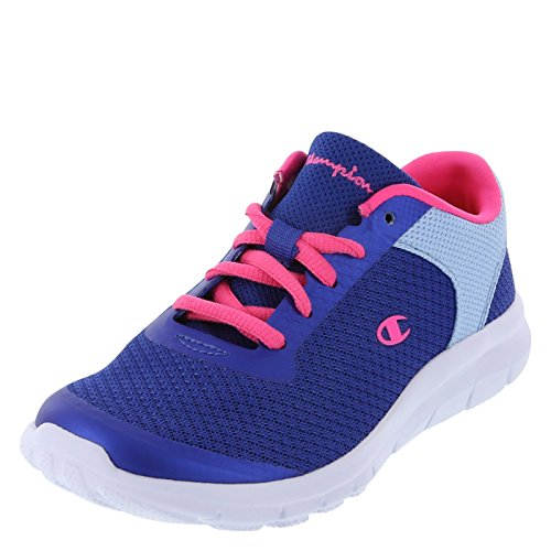 Champion Dark Blue & Light Blue Girls' Performance Gusto Cross Trainer 13 Regular by Champion