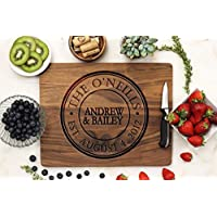 Engraved Personalized Cutting Board - Perfect Anniversary Gifts, Housewarming Gift, Wedding Gifts, Real Estate Gift