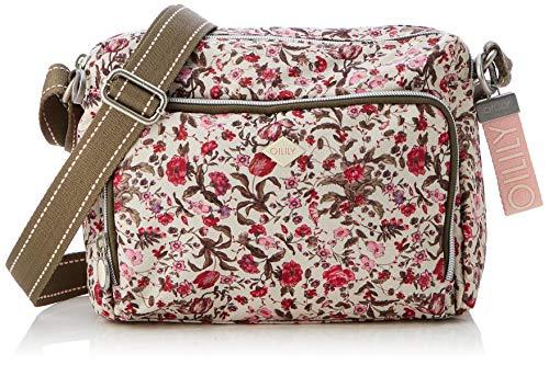 Oilily - Groovy Shoulderbag Mvz, Sacs bandoulière rose pour femme (rose (fuchsia))