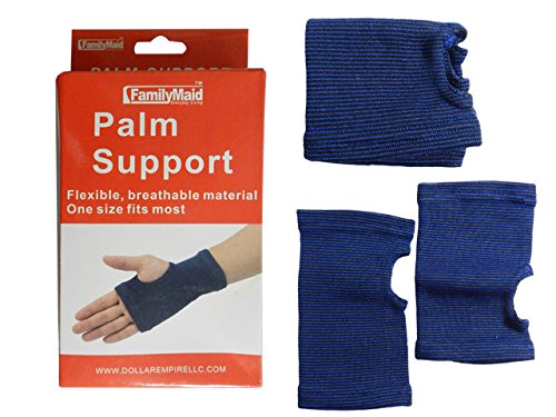 PALM SUPPORT 2PC , Case of 96 by DollarItemDirect