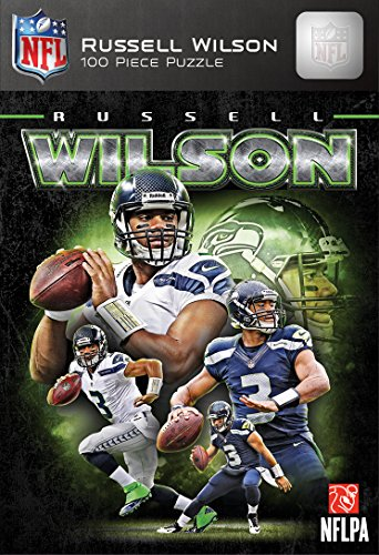 MasterPieces NFL Seattle Seahawks Russell Wilson Puzzle, 100-Piece by MasterPieces