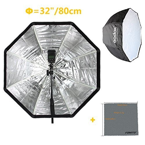 Fomito Portable Speedlight Umbrella Reflector