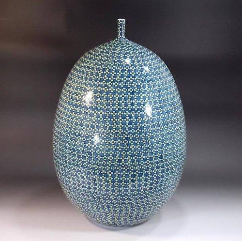 有田焼伊万里焼|花瓶陶器花器壺|贈答品|高級ギフト|記念品|贈り物|色鍋島梅藤井錦彩 B00HUHP4JS