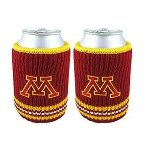 NCAA Minnesota Gophers Woolie Can Koosie, 2-Pack