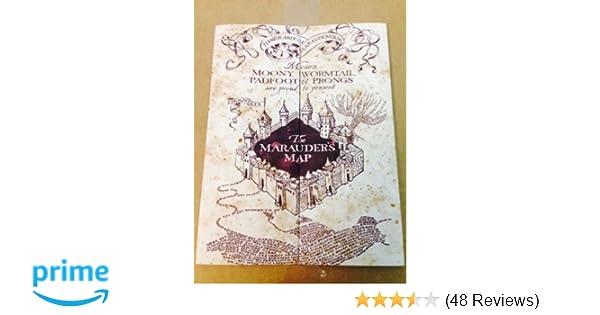 Amazon.com: Marauder\'s Map Hogwarts Wizarding World Harry Potter ...