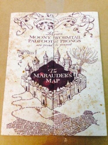 Marauders Hogwarts Wizarding Potter LIMITED
