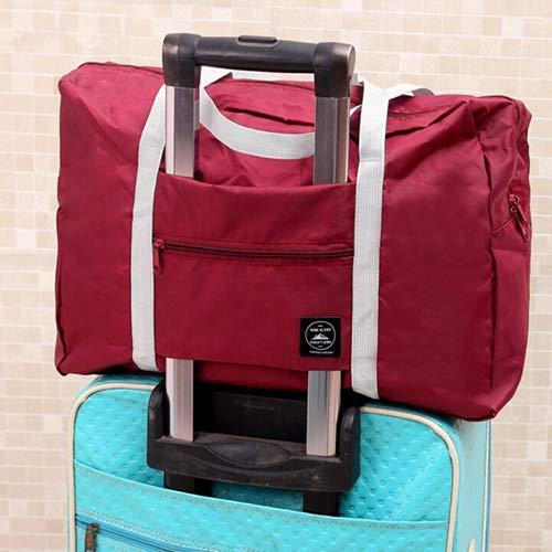 Xelparuc Large-Capacity Travel Handbag,Fashion Practical