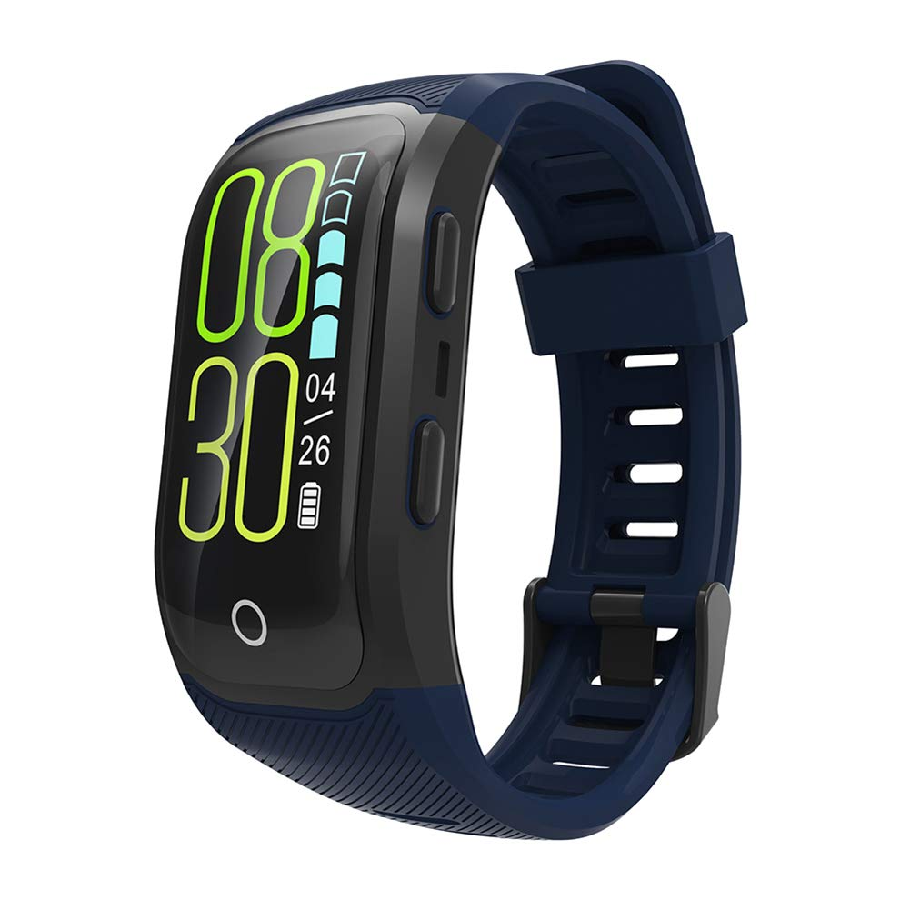 OOZIMO GPS Fitness Watch, IP68 Impermeable Running Monitor ...