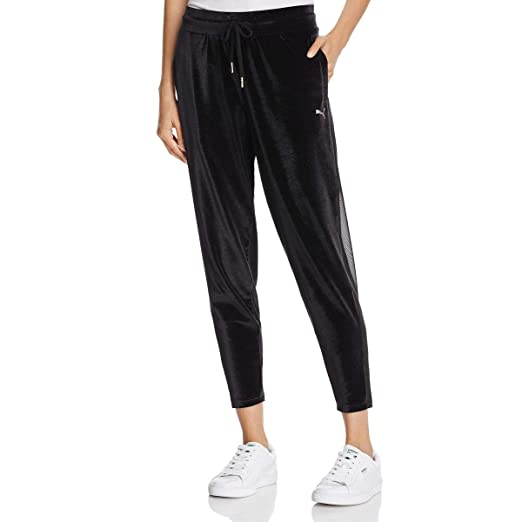 superior quality d8061 53989 PUMA Womens Yogini Velvet Pants at Amazon Women s Clothing store