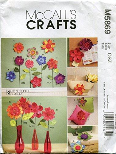 Paper Flower Brads - 9