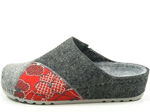 6022 1 Schuhgröße Rohde 40 gris Chaussons Femme Riesa 41 Eu;farbe dHHqXY