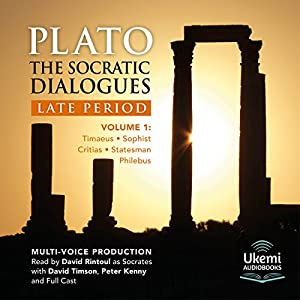 The Socratic Dialogues: Late Period, Volume 1 Audiobook