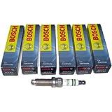 6 New Bosch Super Spark Plug ZGR6STE2 # 0242140507