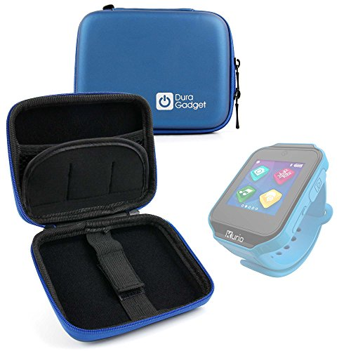 DURAGADGET Exclusive Hard Shell EVA Box-Style Case in Blue f