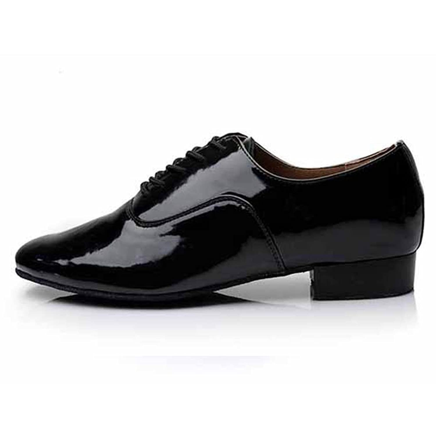 82587cfb700a Roymall Men's Latin Dance Shoes, Patent Leather,Model 703 durable modeling